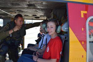 Sophia Cadet Camp chopper 02