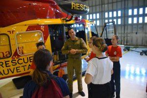 Sophia Cadet Camp chopper 03