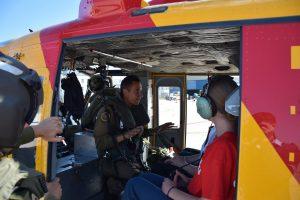 Sophia Cadet Camp chopper 05